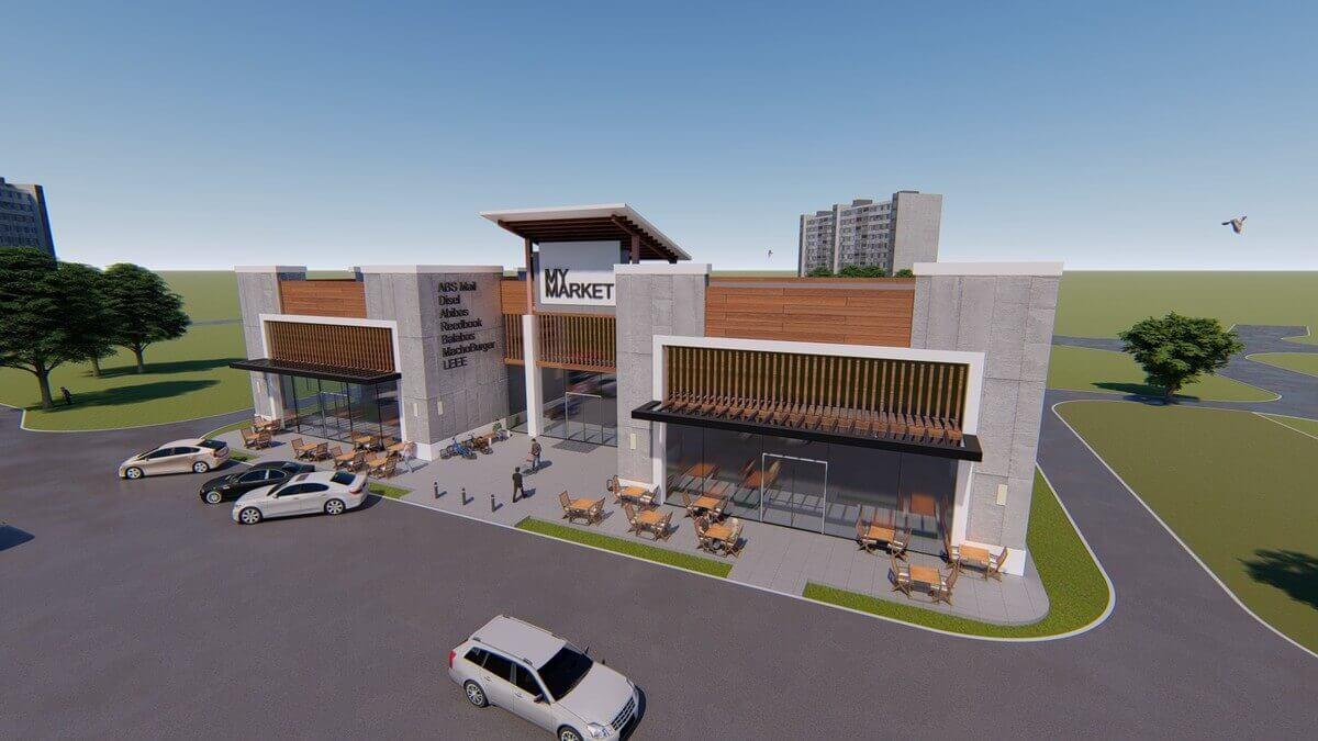 Проектирование гипермаркета