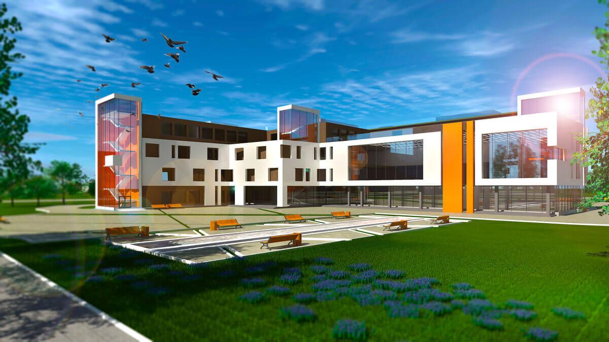 Проектирование школы